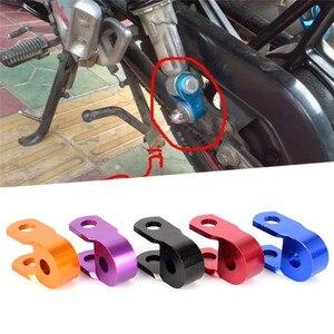Image 2 - 2Pcs New Aluminum alloy Motorcycle Motorbike Dirt Bike Shock Absorber Height Extender Jack Up Riser