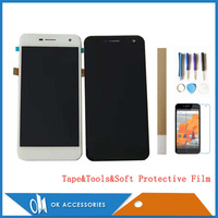 5.0 Inch For Wileyfox Spark Plus LCD Display+Touch Screen Digitizer Black White Color With Kits