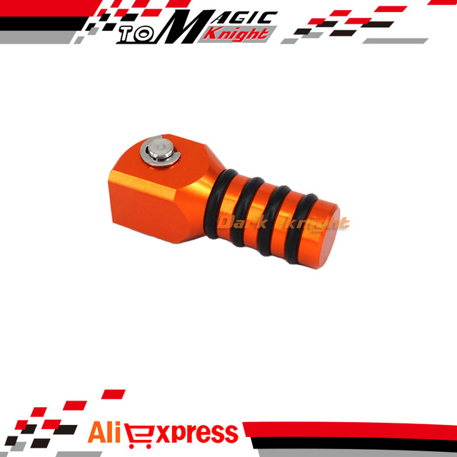 For KTM EXC 125/200/250/300/380/400/450/500/520/525/530 EXC-F/SX-F Motorcycle Accessories CNC Aluminum Shift Lever Toe Peg