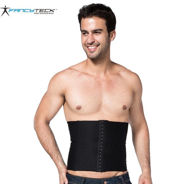 710f0783f3 Hot Shapers Men Slimming Waist Trainer Fat Burner Belly Support Belt For  Men Slimming Belt Slim Waist 2 Color