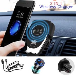 Image 1 - Soporte de teléfono para coche soporte de montaje en salida de aire de coche soporte de teléfono móvil No magnético soporte de teléfono móvil de gravedad Universal soporte de teléfono inteligente