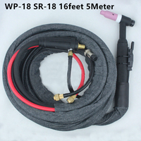 WP 18 SR 18 High Quality Tig Welding Gun TIG Welding Torch Complete Water Cooled 350Amp