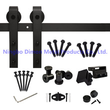 hot deal buy dimon customized sliding door hardware with soft closing wood door hardware dm-sdu 7201 with damper kits without sliding track