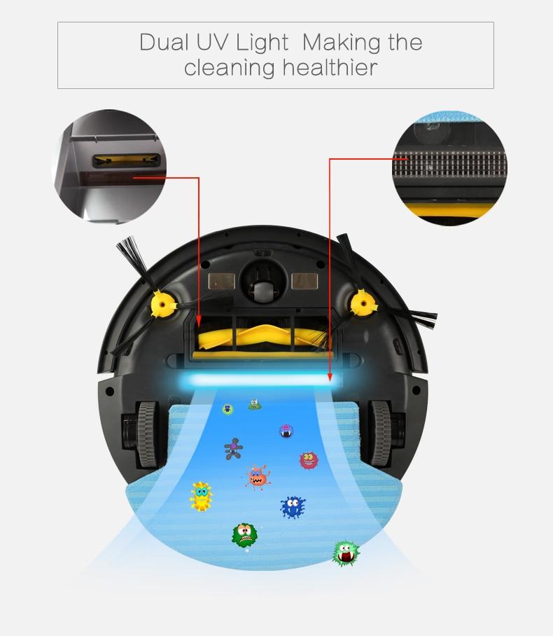(FBA) 2018 nieuwe LIECTROUX robotstofzuiger B6009, kaart & gyroscoop, - Huishoudapparaten - Foto 6