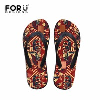 Mens Shoes Fashion UK USA Flag Puzzle Summer Flip Flops Teenager Boys Beach Sandals Flipflop Male