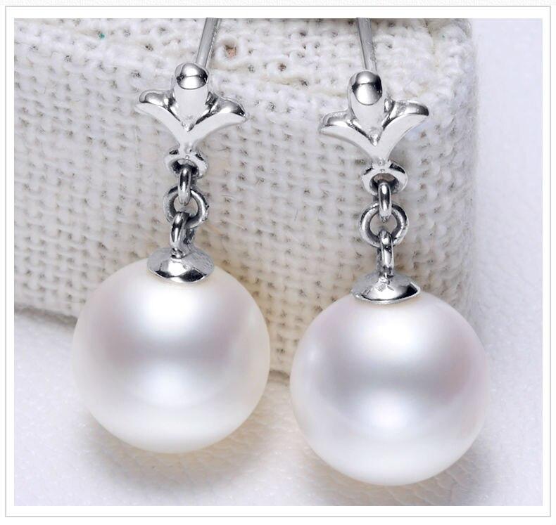 gold freshwater pearl earrings jewelry 44