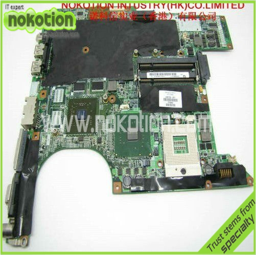 NOKOTION 434722-001 Laptop Motheboard for HP DV6000 Intel 945PM nvidia GF-GO7400-B-N-A3 graphics DDR2