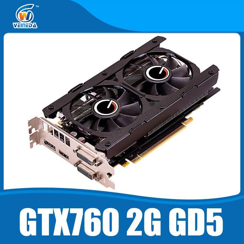 Video card nvidia geforce GTX760 2GB GDDR5 256Bit 6004MHz DVI HDMI