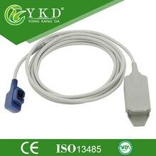 Sensores de Spo2 Adulto clipe de dedo, spo2 probe (U410-75 934-10DN) para Criticare CSI