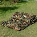 2 M X 3 M militar camuflagem do exército líquido rede barraca de esportes Woodlands Leaves Camo capa para Outdoor caça Camping Car - cobre