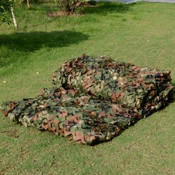 2M X 3M Military Camouflage Net Army Netting Sports Tent Woodlands Leaves Camo Cover for Outdoor Hunting Camping Car-covers