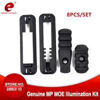 Tactical Airsoft 8PCS/SET Tactical Airsoft MOE Illumination Kit Rail Mount Handguard Rail Panel Softair Gun Hunting Accessories|rail mount|tactical rail mount|illumination kit -