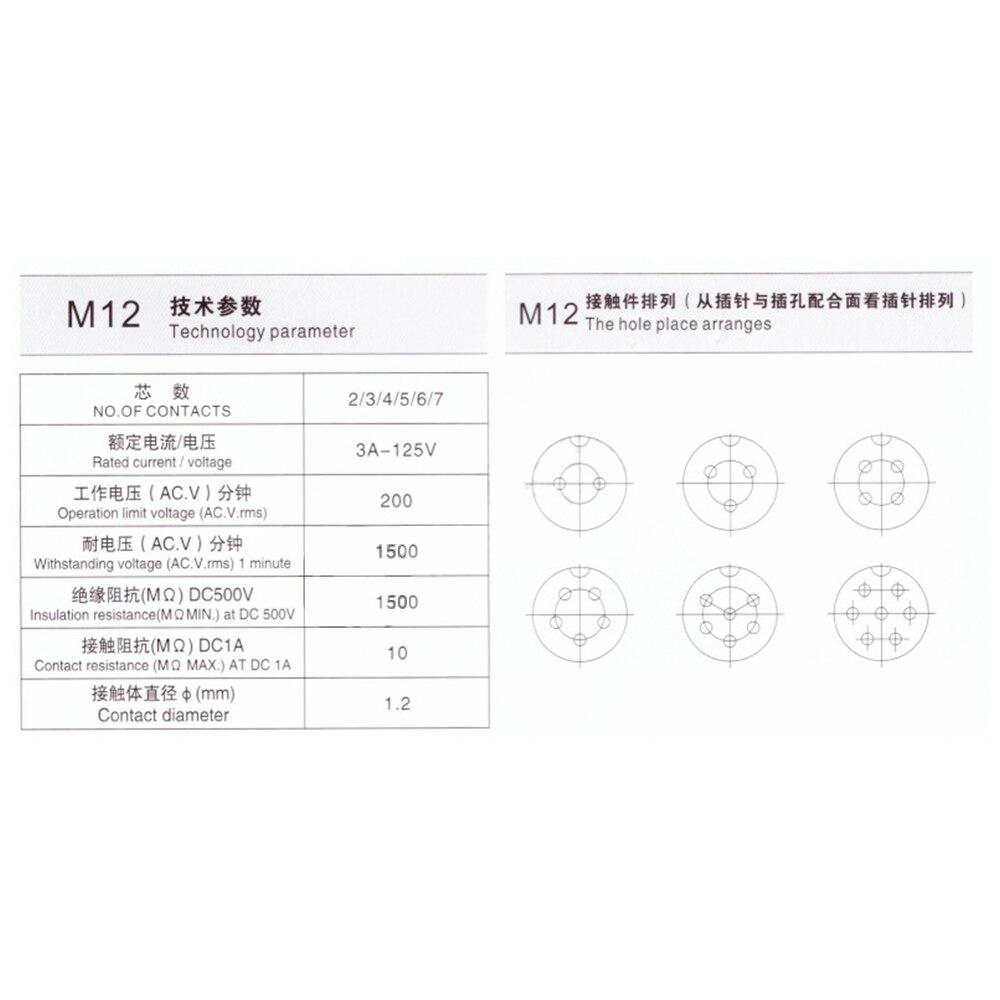 航空插头GX12规格书 (1)