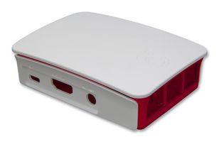 PI3-CASE Raspberry Pie, 3 Generation Shell, White Strawberry