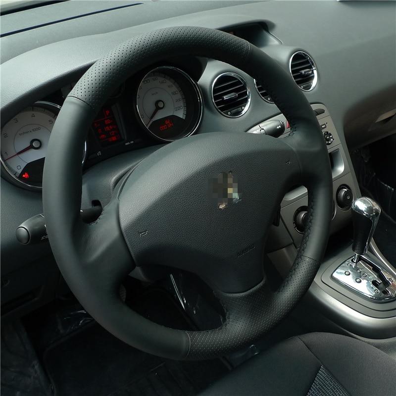 BANNIS қара жасанды былғары DIY ескі Peugeot - Автокөліктің ішкі керек-жарақтары - фото 4