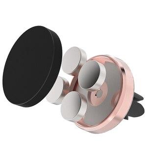 Image 3 - Soporte magnético para teléfono en Xiaomi Pocophone F1 Huawei Car GPS Air Vent Mount imán soporte para teléfono móvil para iPhone 7 Samsung