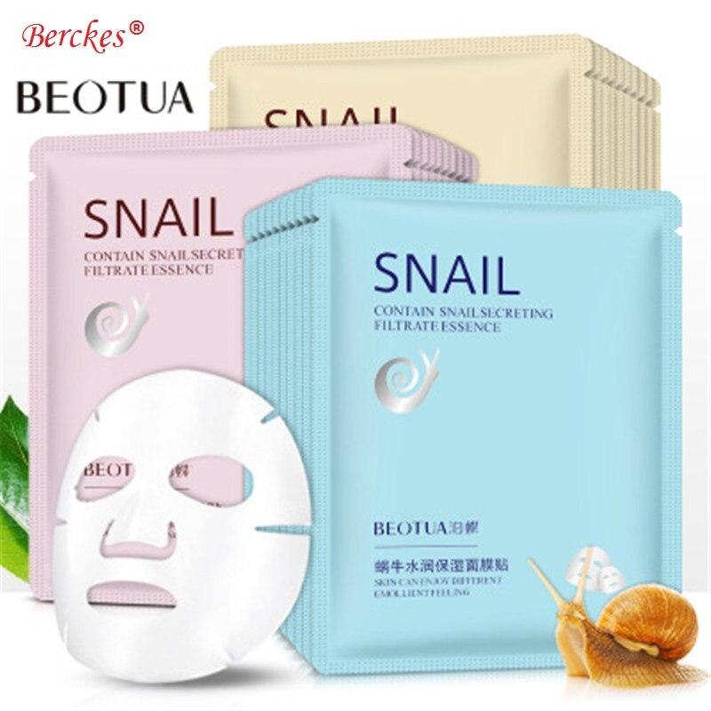 HOT BEOTUA Snail Moisturizing Mask Firming & Smoothing Balancing Oil & Moisturizing Mask Skin Care