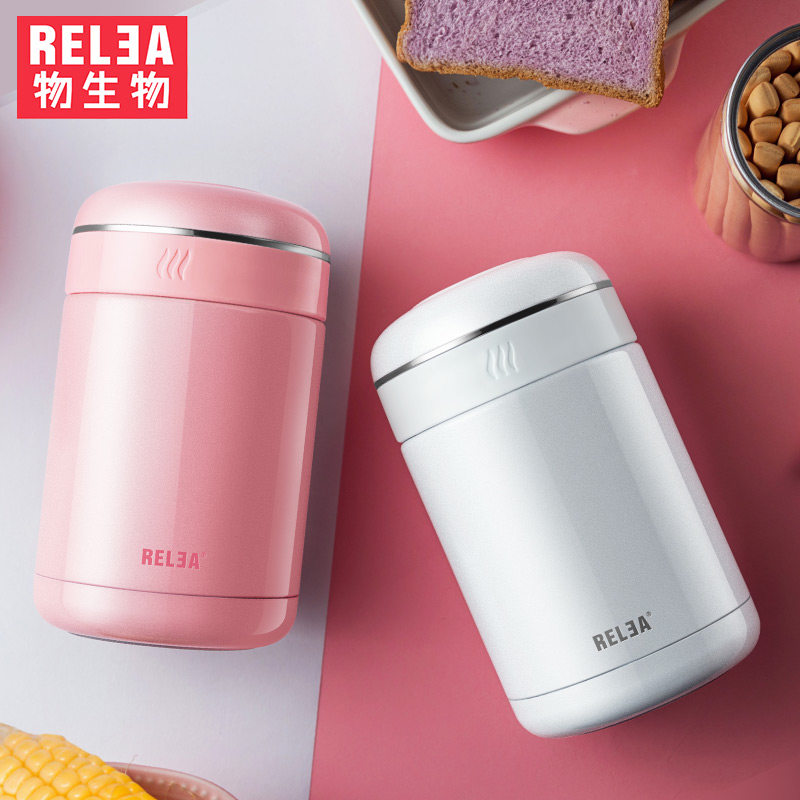 Thermos Lunch Box Stainless steel Insulated Food vacuum Flask Container With Bag Insulation Thermo Bento For Children Storage