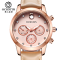 Ochstin Brand Relogio Feminino Date Day Clock Female Leather Ladies Watch Women Fashion Casual Watch Quartz Wrist Women Watches