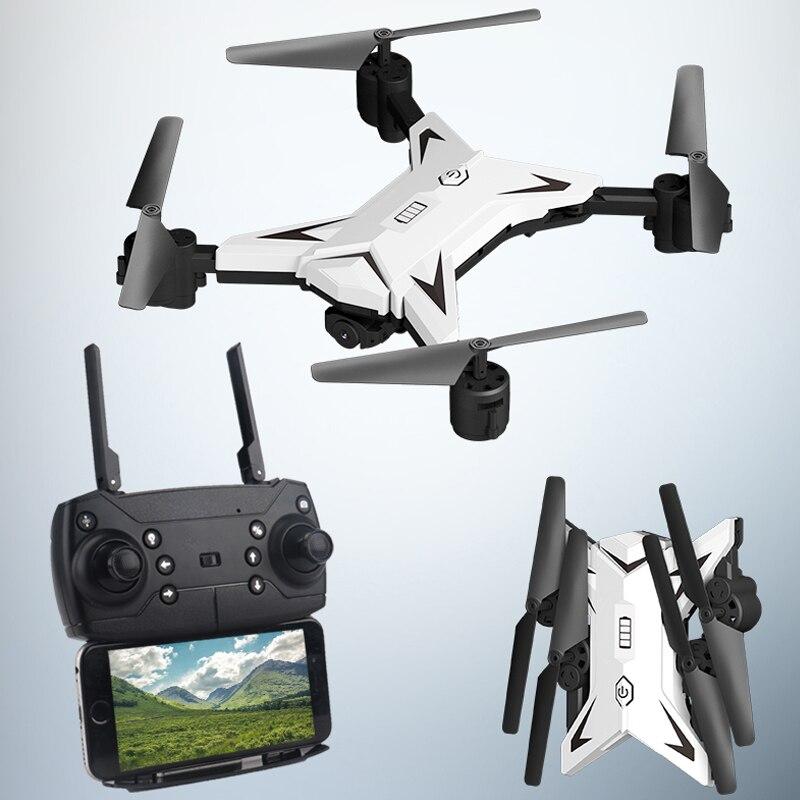 Nuevo RC helicóptero Drone con cámara HD 1080 P HD WIFI FPV RC Drone profesional plegable Quadcopter 20 minutos en la vida de la batería