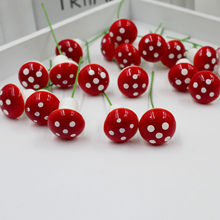 10Pcs Crafts Home Decoration Accessories Mini Red Mushroom Garden Ornament Miniature Plant Pots Dollhouse Diy(China)