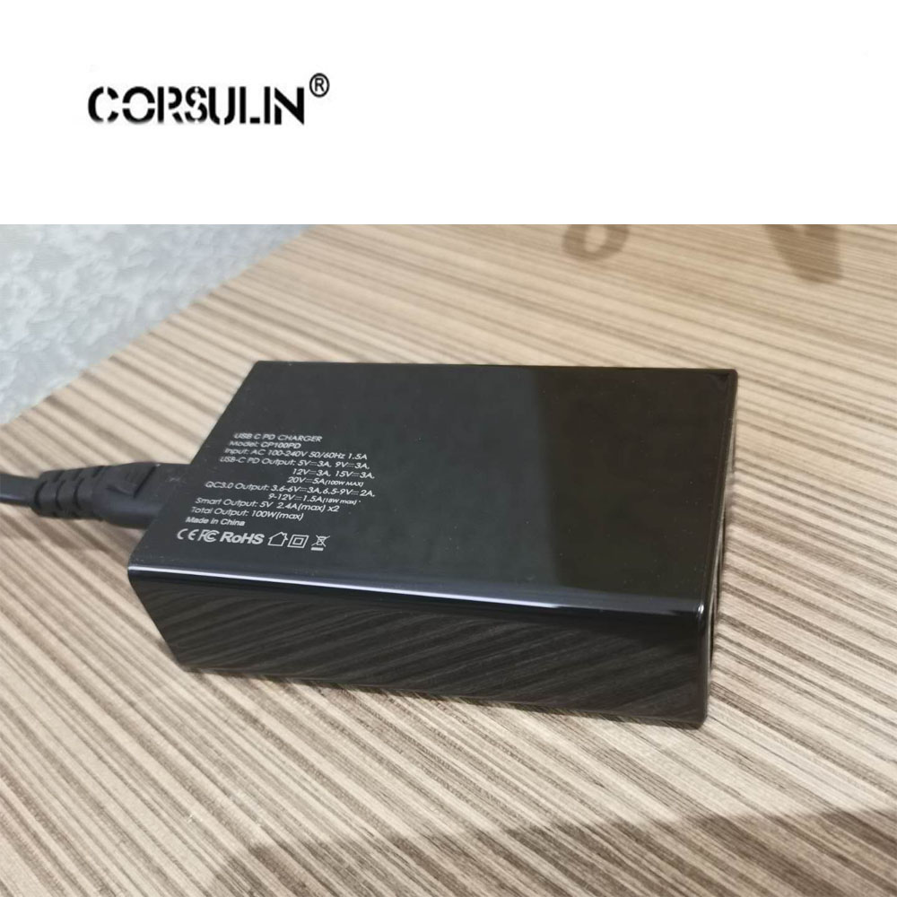 100W 90W 87W 65W 45W USB Type C Charger For Macbook Asus Lenovo ThinkPad Xiaomi Pro 5V 9V 12V 15V 20V Max 5A USB C Charger 100W in Chargers from Consumer Electronics