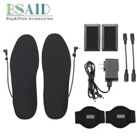 BSAID Battery Electric Heated Insoles Winter Warm USB Heating Shoe Pads For Women Men,Magnetic Therapy Foot Warmer Pads Inserts