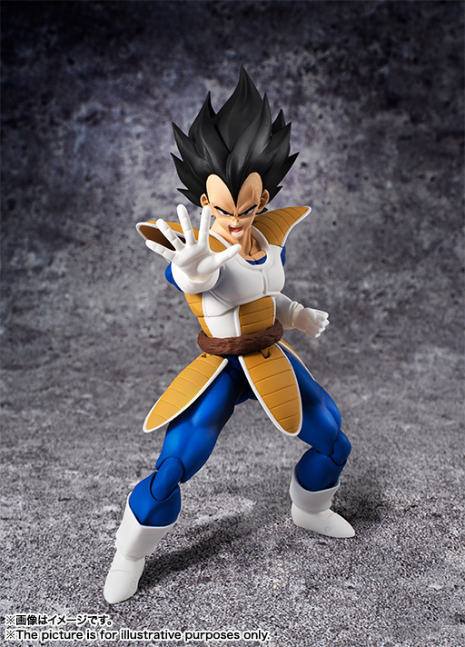 Anime Dragon Ball Z SHF Figuarts Super Saiyan Vegeta Joint Moveable Action Figure Collection Model Kids Toy Doll 15cm