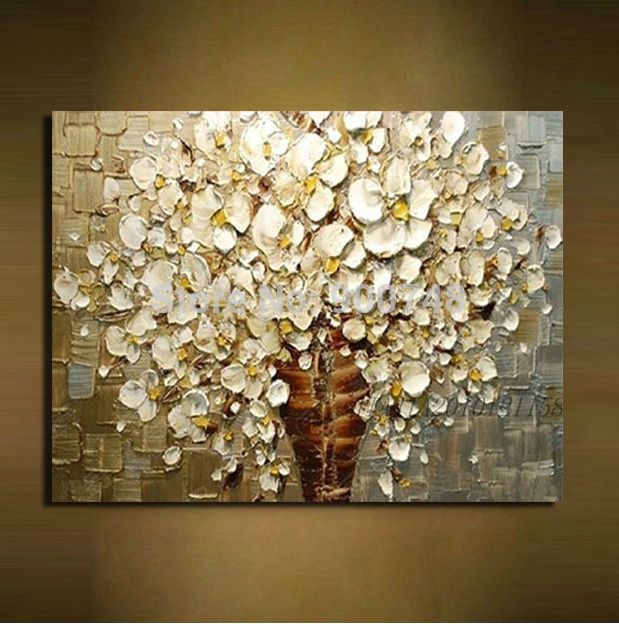 Hand Paint Knife Abstract Oil Painting On Canvas Art Wall Decor