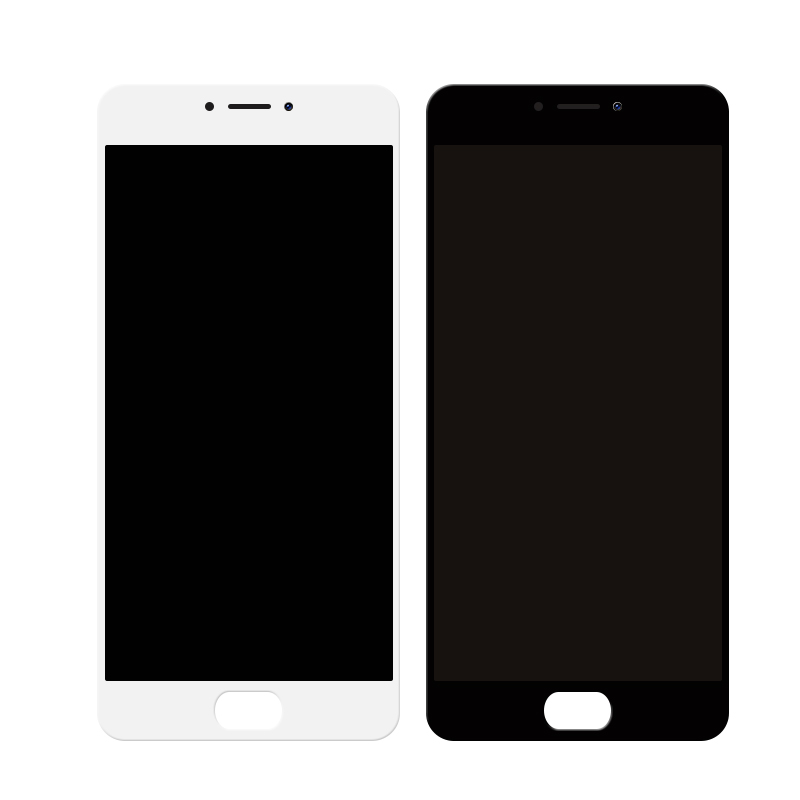 5.5 Inch LCD cell phone Display Assembled With TouchScreen Digitizer Assembly For Meizu M3 Note M681H Replacement BLACK WHITE