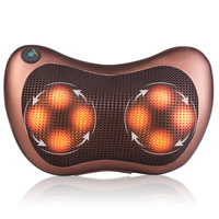 Multi functional Massager Pillow Electric Infrared Heating Kneading Neck Shoulder Back Body Pillow Car Home Use Chair Device