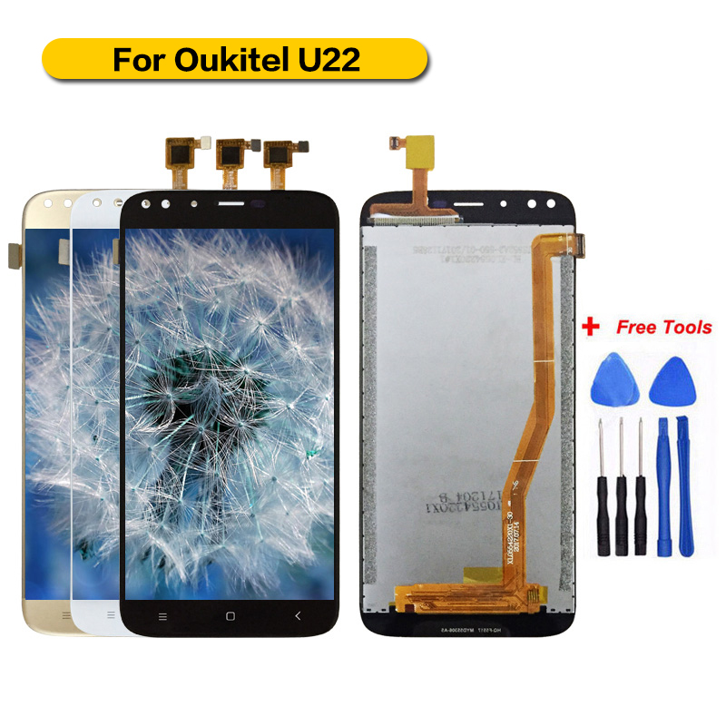 For Oukitel U22 Display+Touch Screen Assembly Screen For U22 XL0554220X1-30 100% Tested with Free ToolsFor Oukitel U22 Display+Touch Screen Assembly Screen For U22 XL0554220X1-30 100% Tested with Free Tools