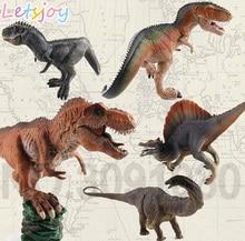 лучшая цена APATOSAURUS SPINOSAURUS Tyrannosaurus T-Rex King dinosaur jurassic GIGANOTOSAURUS ancient anime world high simulation park 2