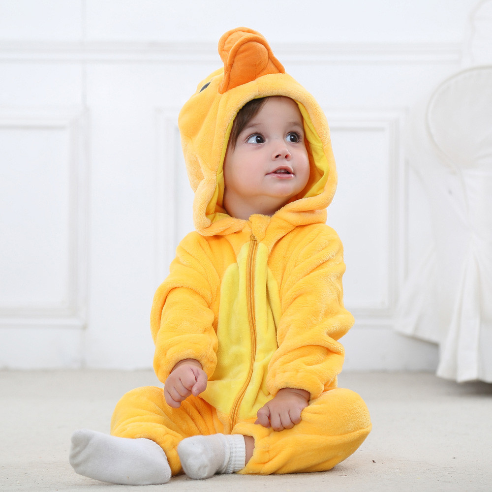 Cute Design Baby Romper Infant Boy Bear Cartoon Animal Jumpsuit Baby Girl Rompers Baby Clothing Pajamas #ES cartoon boy girl design resin desktop decoration