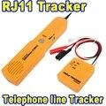 2015 Nuevo Llega de Mano Durable Detector Perseguidor del Cable de Alambre de Teléfono RJ11 Línea Telefónica Cable Tester Tool Kit Tono Trazador Receptor