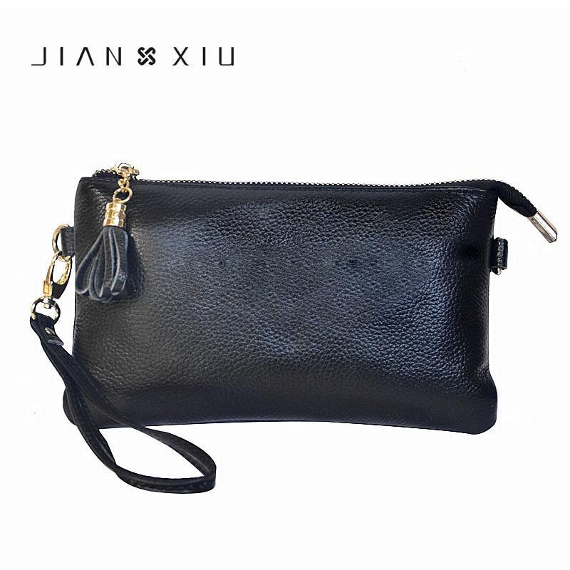 Brand Female Genuine Cow Leather Bags Soft Cowhide Handbag For Women Tassel Messenger Bag Shoulder Purse Envelope Clutch Bag стоимость