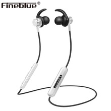 FineBlue Mate 10 magnetic wireless bluetooth headset neckband sport headphone stereo bass earphone earbuds with MIC and  FX-2 hevaral magnetic neckband wireless earphone sport bluetooth 5 0 headphone with mic sweatproof bass headset earpiece auriculares page 5 page 5 page 3