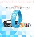 Nueva w5 inteligente muñequera pulsera inteligente podómetro sleep tracker termómetro inteligente muñequera rastreador de ejercicios de smart watch
