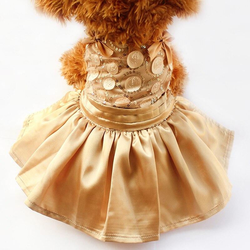 Armi store Sequins Glittering Decorations Summer Dog Dress Princess Dresses For Dogs 6071030 Pet Clothes Supplies XS S M L XL
