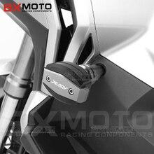 Proteção de motor para motocicleta, proteção para motor de motocicleta para honda xadv X ADV 750 2017 cnc protetor de armação queda