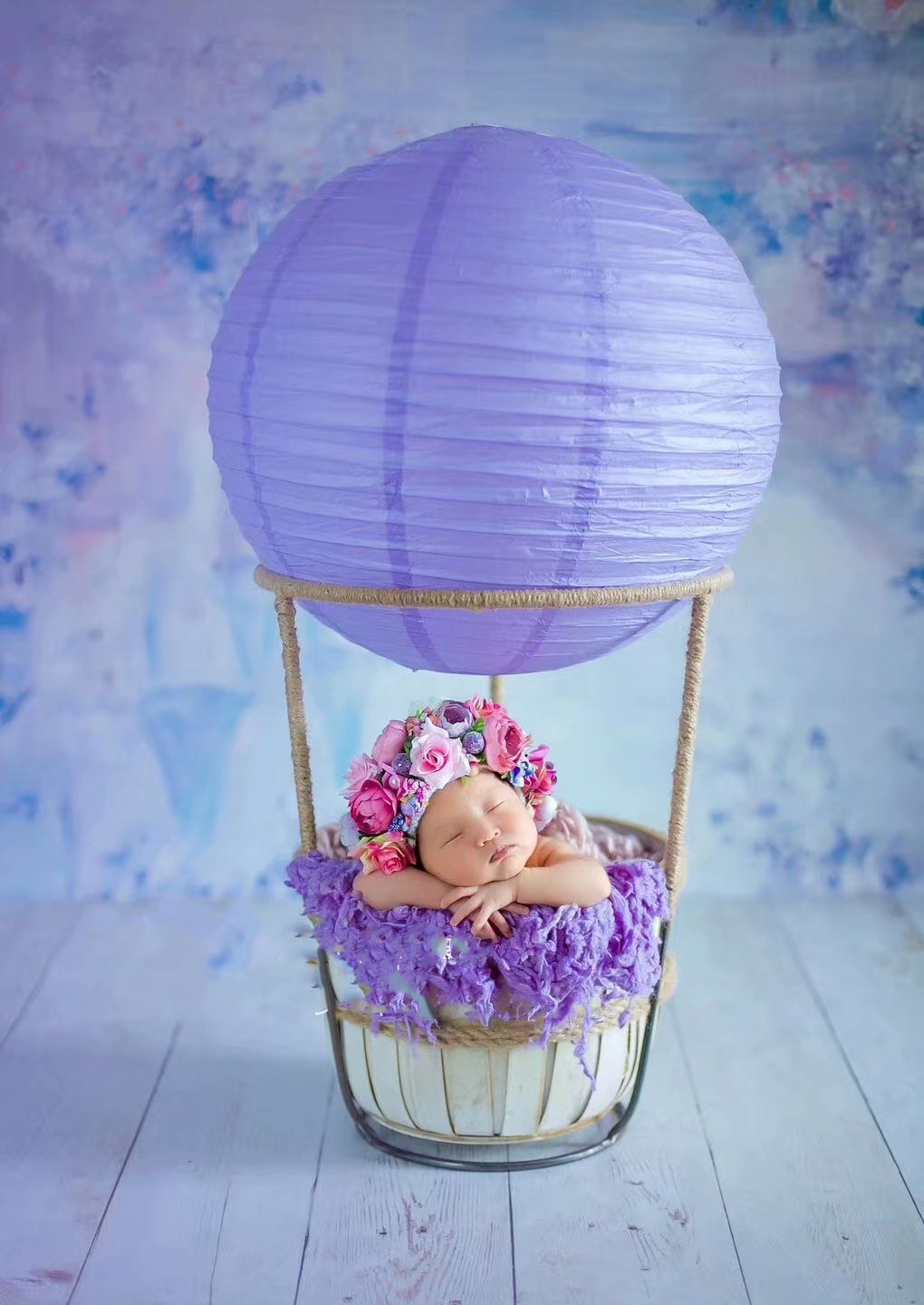 Creative Balloon Props For Newborn Photography To Decorate Cute Baby Studio Props