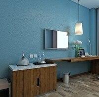 Solid Color PVC Wallpaper Modern Silk Wallcovering Simple Wall Paper For Livingroom Bedroom Decor