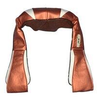 DHL Free Shipping U Shape Body Massager Electric Back Shoulder Neck Massager Car Home Dual Use