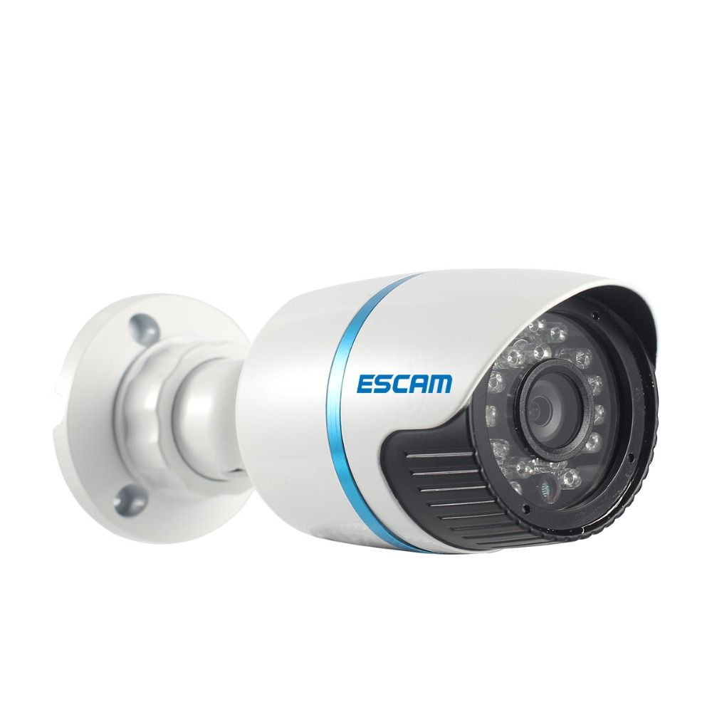 ESCAM Q630M 1/4 CMOS 6mm HD 720P P2P Night Vision Onvif Mini Bullet Network IP Camera Surveillance CCTV