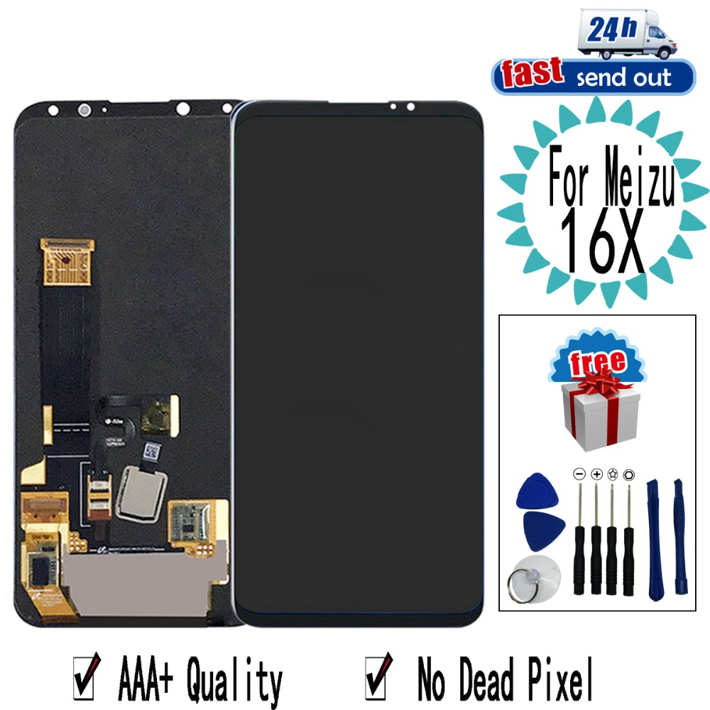 """AMOLED 6.0"""" 16X LCD For MEIZU 16 X 16X LCD Display Touch Screen Digitizer Assembly Replacement For MEIZU 16X"""