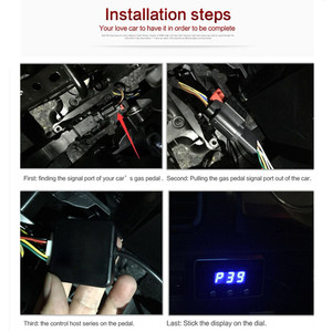 Image 5 - GEYIREN Car electronic throttle controller for modify tune grooming maintain refit beauty service center Auto gas pedal booster