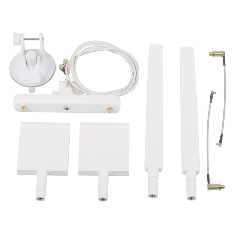 Sunnylife DJI Phantom 4 3 Advanced Professional WiFi Range Signal Extender Kit + DJI Phantom Car Top Antenna Holder Tray 7000m