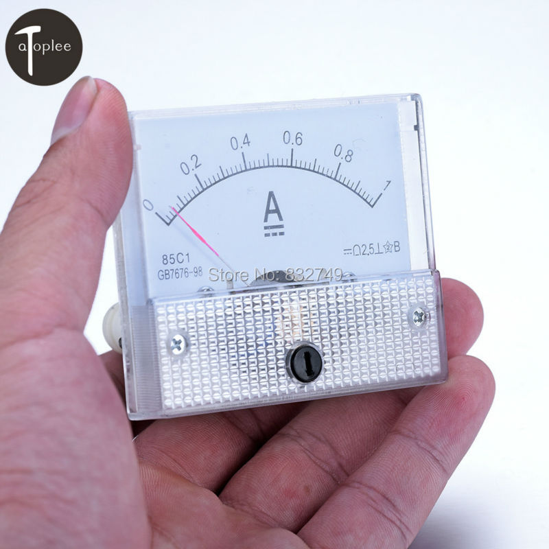 1 Meter Wire Current : Dc a amperemeter current ammeter meters c gb t