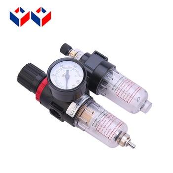 Unidad de Tratamiento fuente AFC 2000 BFC 2000 3000 4000 medidor de presión Airtac tipo dos unidad de filtro regulador lubricador