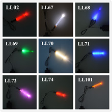 MTELE Light Swords DIY Light Accessories For The Force Awakens Nano Building Block Lightsaber Toy Lighting Kit With Usb